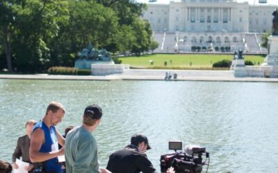 On set in DC