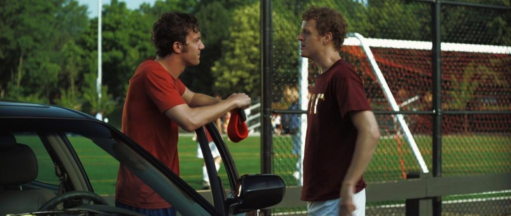 Kurt and Robby at parking lot